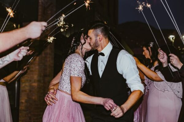 extra long sparklers for wedding grand exit