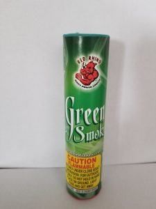 smoke stick green color burns 1 minute