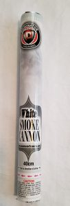 white smoke cannon